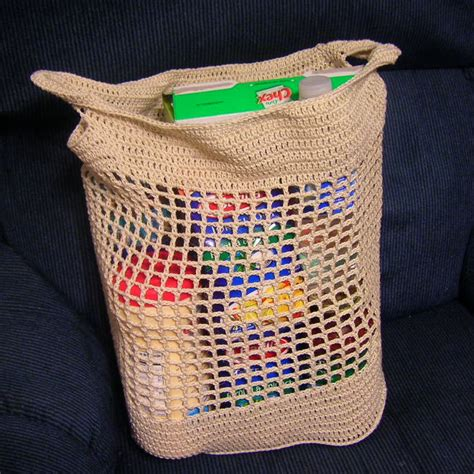 crochet pattern shopping tote julie s shopping bag a free pattern listed in the
