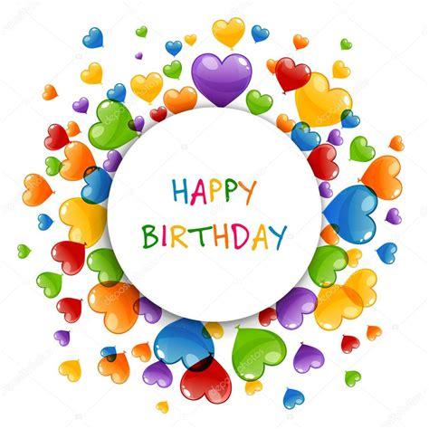 clipart auguri compleanno biglietto di auguri di buon compleanno vettoriale