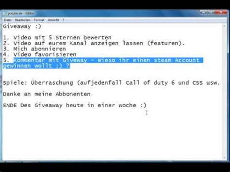 Steam Account Giveaway - full download free steam account with 27 games 5 accounts left hurry