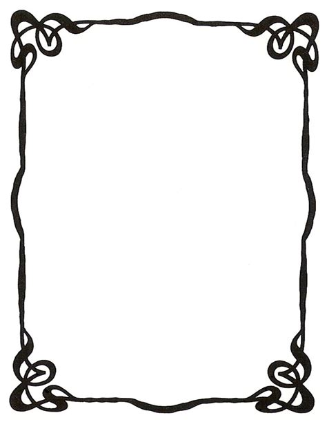 borders and frames line borders and frames clipart best