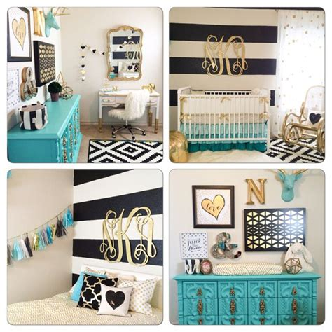 Turquoise And Gold Bedroom Decor by Best 25 Turquoise Nursery Ideas On Coral Aqua