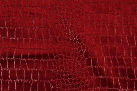 patterned velvet upholstery fabric gator patterned velvet upholstery fabric in ruby
