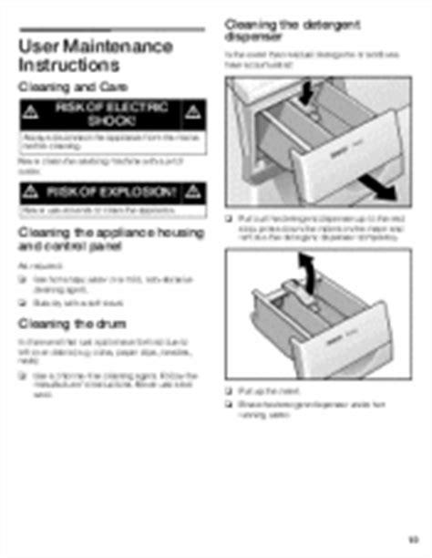 washing machine drawer symbols bosch my nexxt 300 washing machine will not power on and i cant