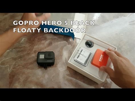 Gopro Floaty For 5 gopro 5 black floaty backdoor unboxing and