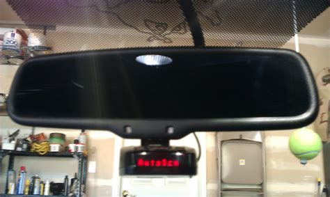 Installed Rogue Mount On Rear View Mirror Ford Mustang Forum