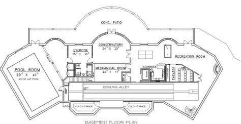 house plans with bowling alley bowling alley floor plans gurus floor