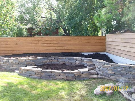 Garden Bed Walls Another Wall I Built I Wasn T