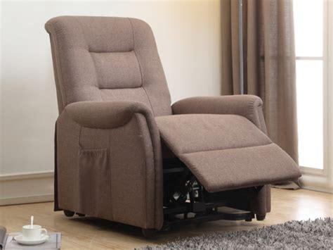 fauteuils relax fauteuil releveur 233 lectrique en tissu 2 coloris nerudo