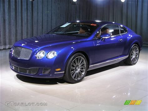 blue bentley interior 2008 moroccan blue bentley continental gt speed 221940