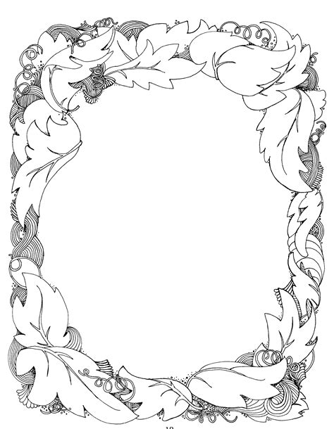 pattern border drawing simple page border designs to draw cliparts co