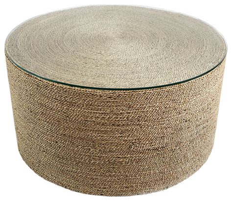 seagrass coffee table seagrass rope table style coffee tables