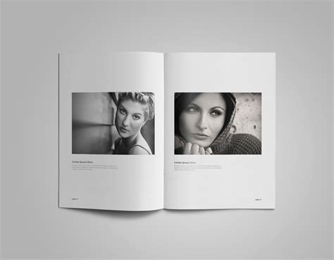 photographer portfolio template free design resources