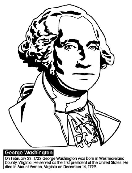 coloring pages of united states presidents u s president george washington coloring page crayola com
