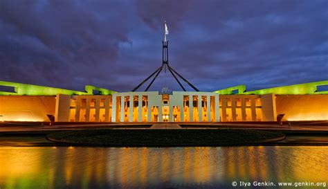 buy house canberra parliament house at night capital hill canberra act australia ilya genkin travel