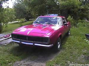 chevy camaro first generation camaro pictures