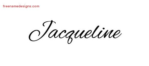 tattoo name jacqueline cursive name tattoo designs jacqueline download free