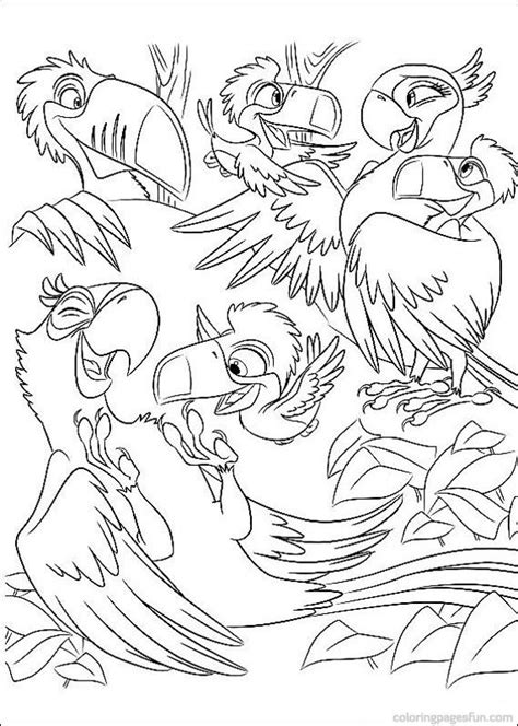 rio coloring pages online rio coloring pages 15 rio pinterest coloring pages