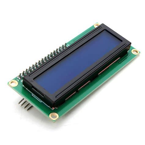 Lcd Display iic i2c 1602 blue backlight lcd display module for arduino alex nld