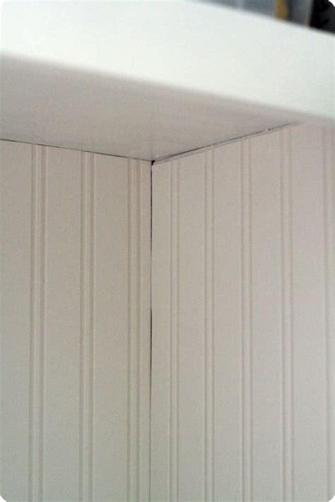 wallpaper for uneven walls beadboard wallpaper and then caulk to hide the uneven
