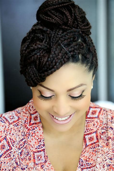 nigeria ladies weave on hairstyles how to style single braids and pictures of different hot