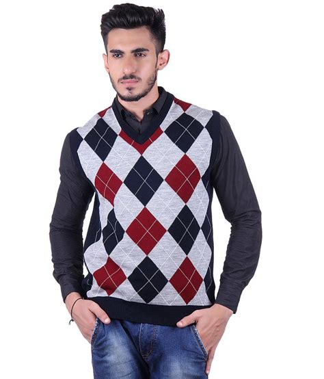 Sweater King Maroon by Sportking Maroon Gray Sleeveless Sweater Buy Sportking