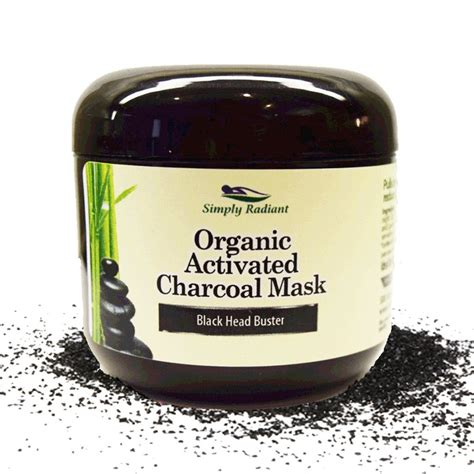Activated Charcoal Skin Detox by Organic Activated Charcoal Mask Simply Radiant