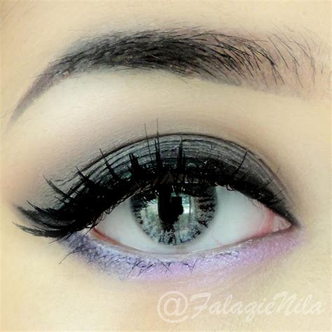Ageha D Silver eye makeup inspiration 3 the brown skinned s diary