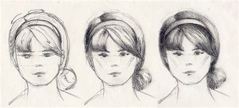 headband shapes and hairstyles how to draw hairstyles 5 styles to draw