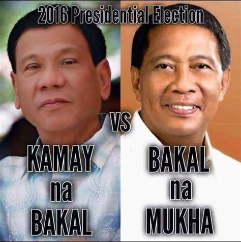Duterte Memes - funny pinoy memes about binay pinoy hugot