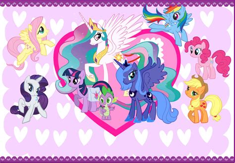my pony valentines my pony valentines card by curruptedcynder on