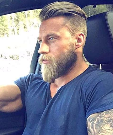 undercut with beard 45 trendy undercut with beard styles menhairstylist com