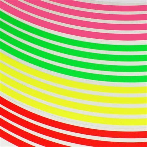 Felgenaufkleber Orange by Felgenrandaufkleber Neon