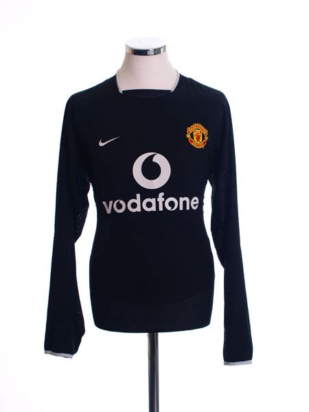 Forlan T Shirt 2003 05 manchester united away shirt forlan 21 l s m for sale
