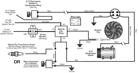 auto air conditioner wiring diagram wiring diagram