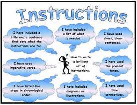 instructions success criteria poster mat