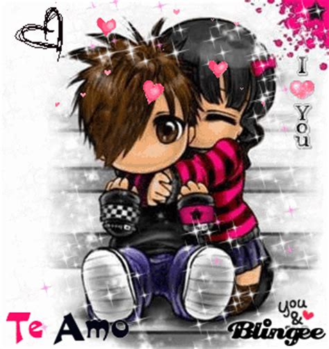imagenes emo que digan te amo pareja emo quot te amo quot picture 117731755 blingee com