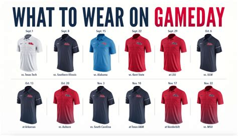 ole miss colors ole miss gameday attire a tradition unlike others