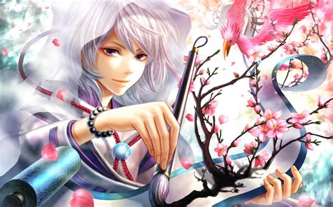 anime girl wallpaper widescreen wallpapers for desktop anime wallpapersafari