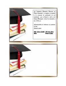 tarjetas de graduacion para editar tarjeta grado