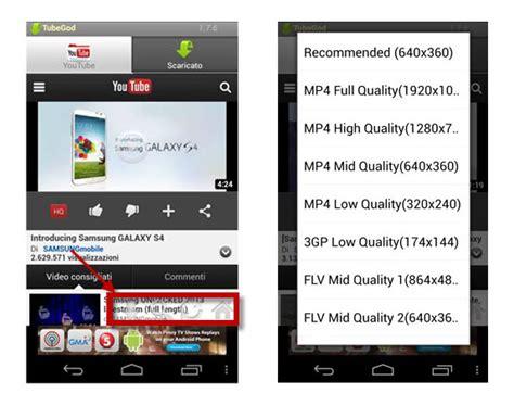 download mp3 da youtube su android le app per scaricare musica e video da youtube su android