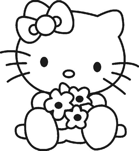 imagenes para dibujar hello kitty hello kitty free printables hello kitty para colorear