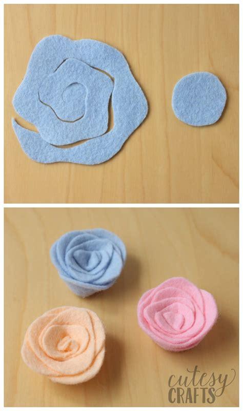 Felt Templates by Felt Flower Magnets Tutorial Cutesy Crafts