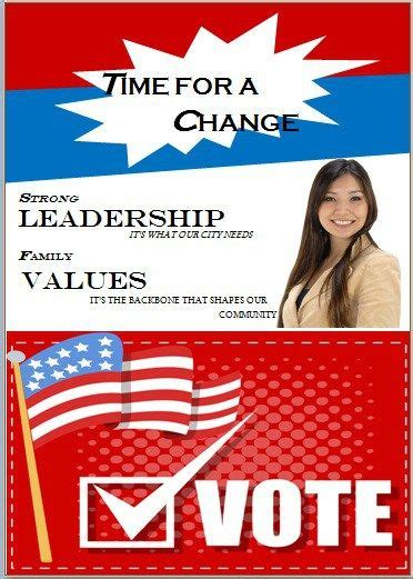 political campaign flyer templates images