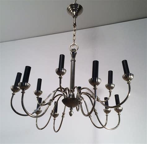kronleuchter aus metall metall kronleuchter mit 2 leuchten bei pamono kaufen