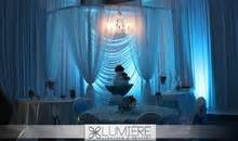 pipe and drape rental dallas lumiere lighting drapery wedding event rentals