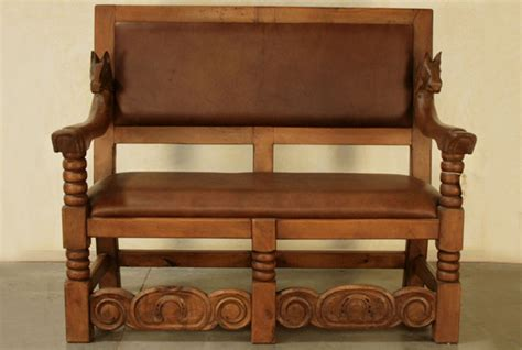 mexican bench spanish benches custom made sofas rustic wood benches