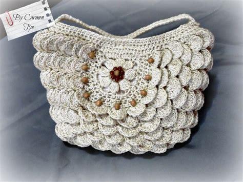 cartera o bolso con asa tejido a crochet youtube bolsos a crochet con patrones gratis para tejer todo