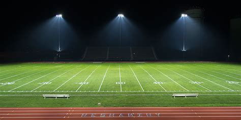 led field lighting major sports teams the switch to led lighting clark