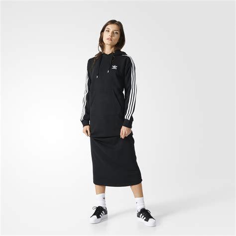 Dress Hodie Adidas 3 stripes hoodie dress