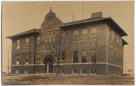 Colfax Post Office by Leigh Nebraska Postcards Colfax County
